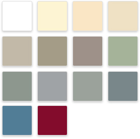Everlast Advanced Composite Siding Color Palette